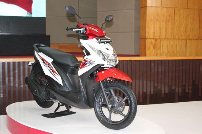 Honda ra mat xe ga gia re dung dong co eSP hinh anh 1 Honda BeAT eSP mới ra, giữ nguyên thiết kế như trước đó. Ảnh: Dapurpacu.