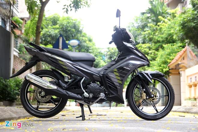 Exciter 135 RC được thay thế bởi Exciter 150 mới. Ảnh: Hạ Phong.