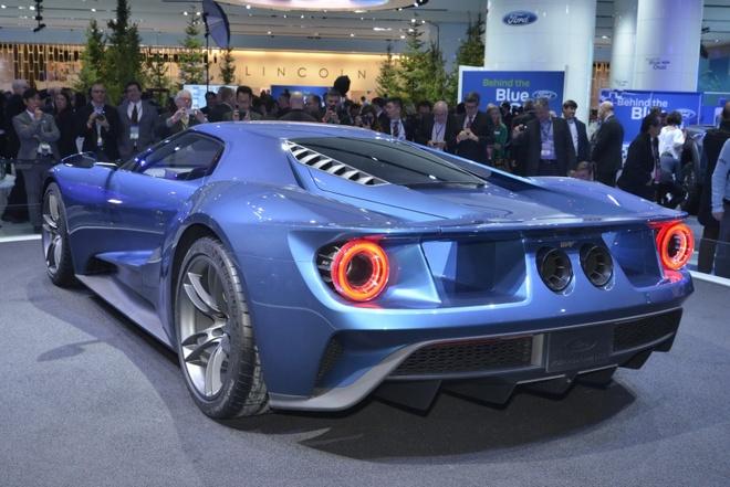 Ford GT bat mat voi dien mao hoan toan moi hinh anh 6 Ford GT mới sẽ được bán ra vào cuối năm sau, nhân kỉ niệm lần thứ 50 chiến thắng đầu tiên của độ đua Ford ở giải đua danh giá 24 Hours of Le Mans.