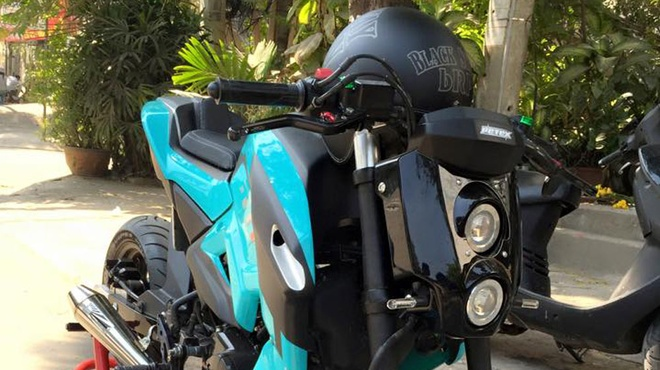 Honda MSX 125 do cuc khung tai Sai Gon hinh anh 5