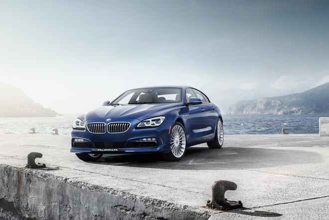 BMW he lo thong tin Alpina B6 Gran Coupe phien ban moi hinh anh