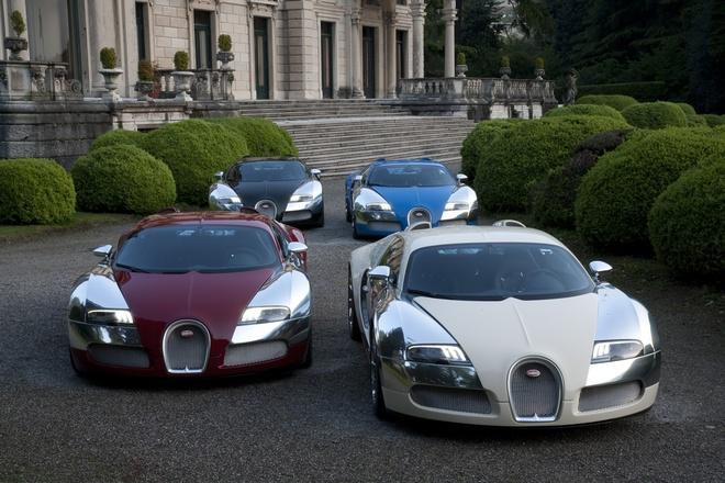 Sieu xe Bugatti Veyron cuoi cung co chu hinh anh