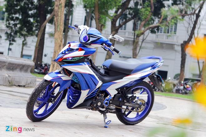 Exciter 135 do dan vo bat mat cua biker Ha Noi hinh anh 1