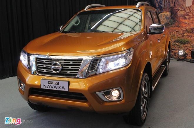 5 mau xe ban tai noi bat tai thi truong Viet Nam hinh anh 1 Nissan Navara NP300 2015 chính thức bán tại thị trường Việt Nam. Ảnh: Hân Nguyễn.