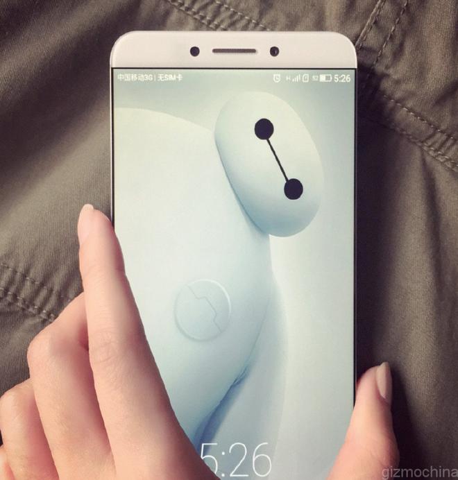 Smartphone Trung Quoc bat dau ro trao luu khong vien hinh anh 2 Hình ảnh rò rỉ của chiếc smartphone LeTV X900 cũng có thiết kế gần như không viền