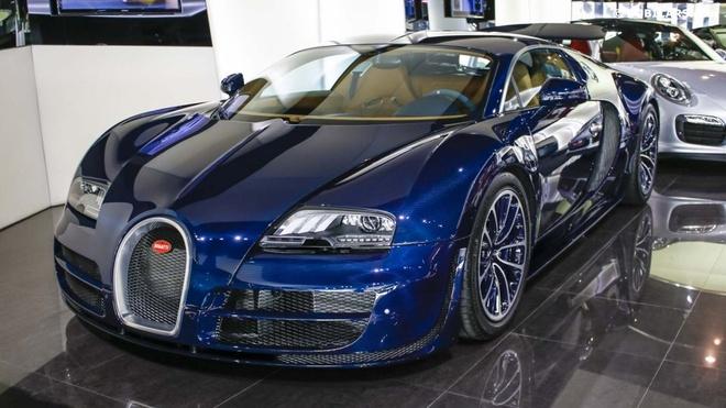 Sieu xe Bugatti Veyron Super Sport mau doc tai Dubai hinh anh