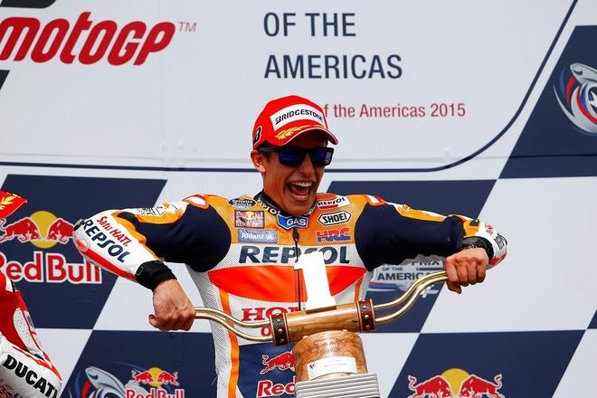 Marc Marquez gianh quan quan chang 2 MotoGP 2015 hinh anh