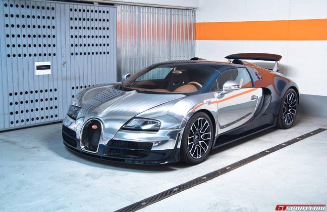 Sieu xe Bugatti Veyron ban huyen thoai tim chu moi hinh anh