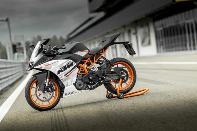 Mẫu sportbike của KTM sở hữu thiết kế khá lạ mắt. Ảnh: Autohug.