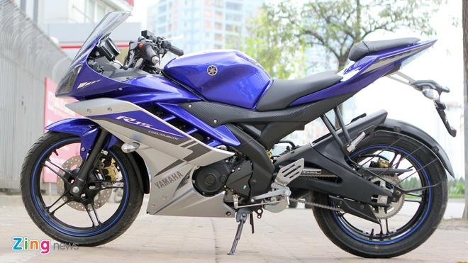 Đặc biệt, mẫu R15 màu xanh GP được phối theo phong cách của siêu môtô R1  2015 ra mắt cách đây không lâu. Người dùng Việt Nam từng quen với cách phối  ...