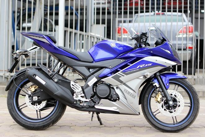 Yamaha R15 phien ban dac biet gia hon 100 trieu tai Ha Noi hinh anh
