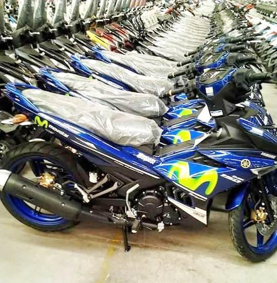 Yamaha Exciter 150 them mau son moi hinh anh