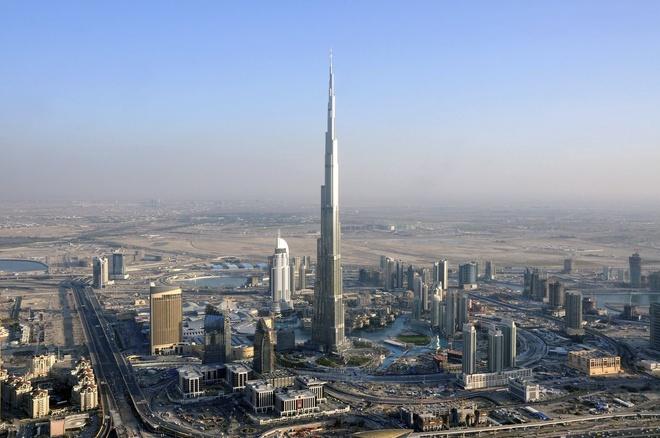 Samsung lon den co nao? hinh anh 2 Toà nhà cao nhất thế giới, Burj-Khalifa, có sự tham gia góp mặt của Samsung