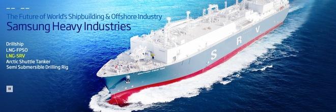 Samsung lon den co nao? hinh anh 5 Samsung là một trong những hãng đóng tàu lớn nhất thế giới.
