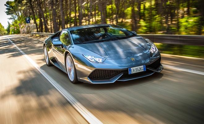 Audi phat trien dong co moi cho R8, Lamborghini Huracan hinh anh 1 Lamborghini Hurancan có thể sử dụng động cơ mới trong tương lai. Ảnh: Caranddrive