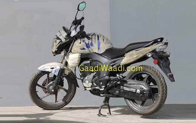 Naked bike Honda 150 phan khoi phien ban moi lan dau lo anh hinh anh