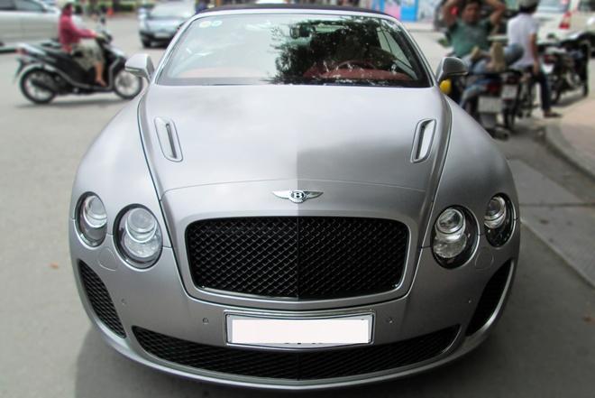 Xe sieu sang mui tran Bentley hiem tai Sai Gon hinh anh