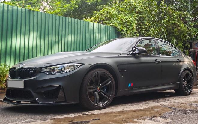 BMW M3 son den mo do ong xa tai Ha Noi hinh anh