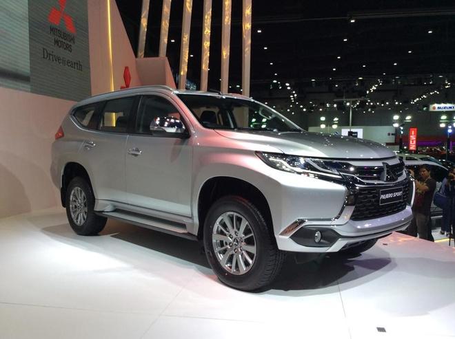 Mitsubishi Pajero Sport 2016 gia tu 32.000 USD hinh anh