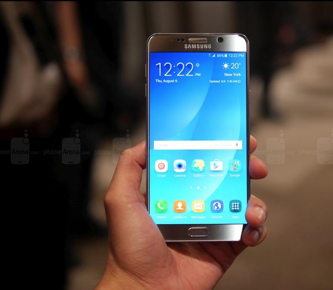 Samsung Galaxy S6 Edge Plus ra mat, gia tu 800 USD hinh anh