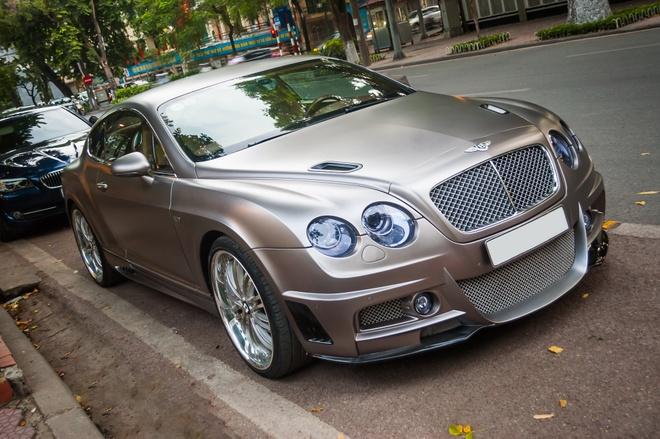 Sieu xe Bentley do doc nhat Viet Nam xuat hien tai Ha Noi hinh anh