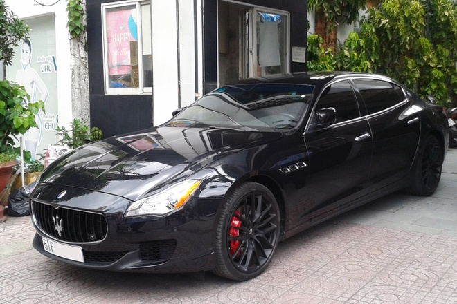 Maserati Quattroporte S Q4 dau tien ra bien hinh anh