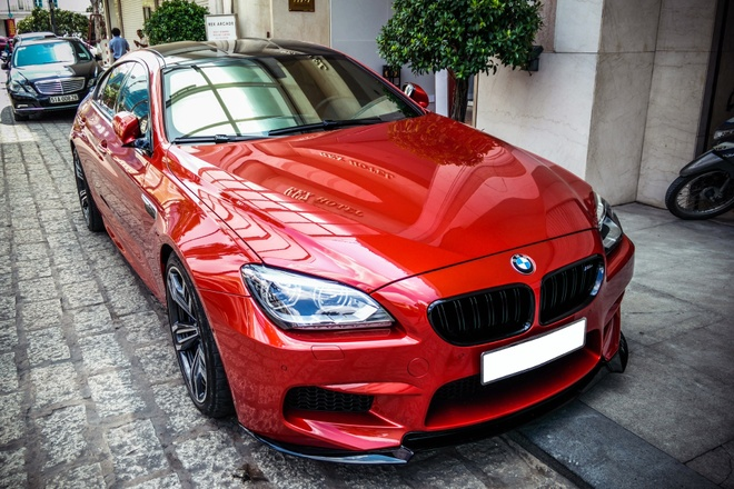BMW M6 Gran Coupe do ong xa Akrapovic tai Sai Gon hinh anh