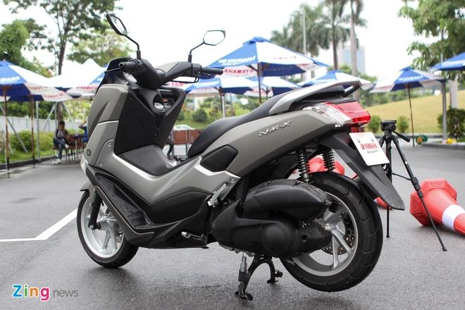 Chi tiet Yamaha NM-X - xe ga trang bi ABS gia 80 trieu dong hinh anh 2
