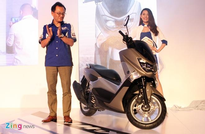 Yamaha Viet Nam trinh lang R3 gia 150 trieu va xe ga NM-X hinh anh 2 Yamaha NM-X trang bị động cơ Blue Core hướng tới khách hàng nam giới.