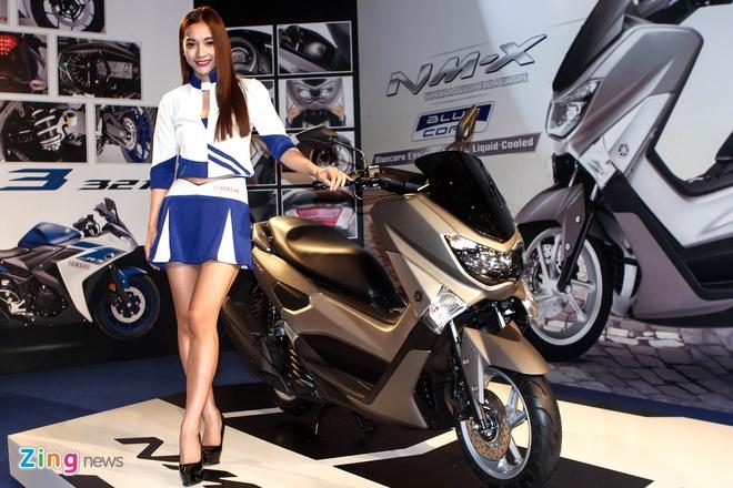Chi tiet Yamaha NM-X - xe ga trang bi ABS gia 80 trieu dong hinh anh 11