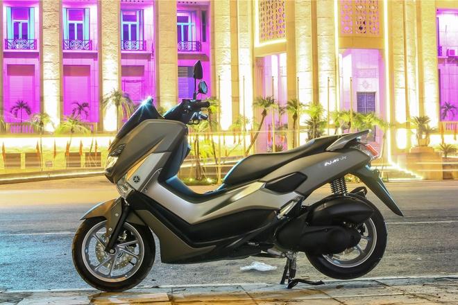 Yamaha NM-X - chuan an toan xe ga moi tai Viet Nam hinh anh