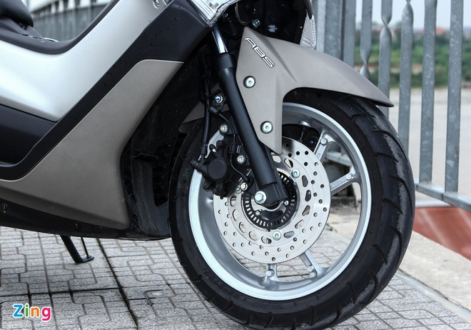 Yamaha NM-X - chuan an toan xe ga moi tai Viet Nam hinh anh 2