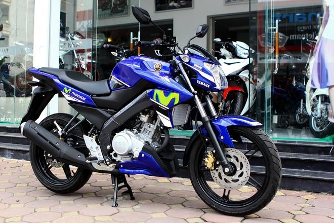 Can canh Yamaha FZ150i phien ban xe dua moi ra mat tai VN hinh anh