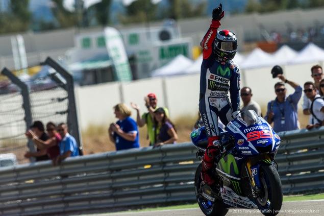 Chang 14 MotoGP: Lorenzo ve nhat, Marquez nga ngua hinh anh 1