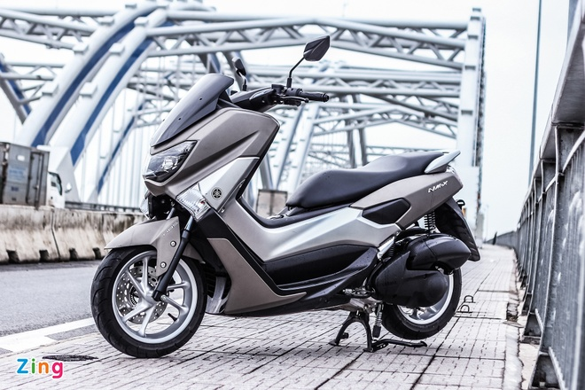 Chay thu Yamaha NM-X: Dong co boc, it ton xang hinh anh 1 Xe tay ga NM-X của Yamaha ra mắt thị trường Việt Nam, được nhập khẩu trực tiếp từ Indonesia.
