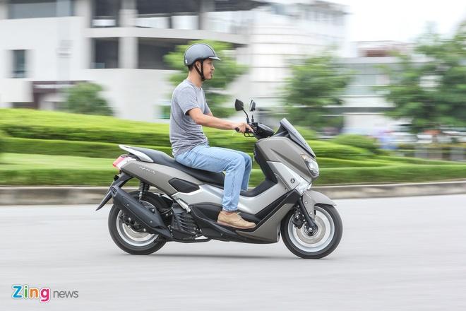 Chay thu Yamaha NM-X: Dong co boc, it ton xang hinh anh 5
