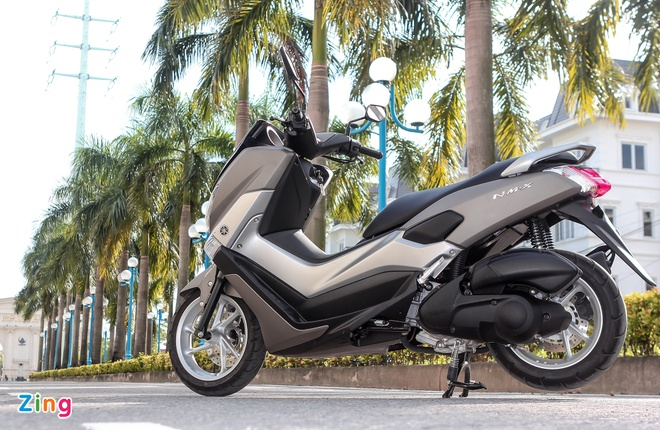 Chay thu Yamaha NM-X: Dong co boc, it ton xang hinh anh 3