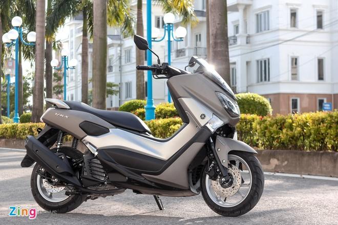 Chay thu Yamaha NM-X: Dong co boc, it ton xang hinh anh 2 Thiết kế của NM-X được lấy cảm hứng từ chiếc TMAX nổi tiếng tại châu Âu.