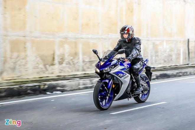 Chay thu Yamaha YZF-R3: Sportbike phu hop cho nai non tay hinh anh 4 Sportbike 321 phân khối của Yamaha mang đến khả năng vận hành bốc.