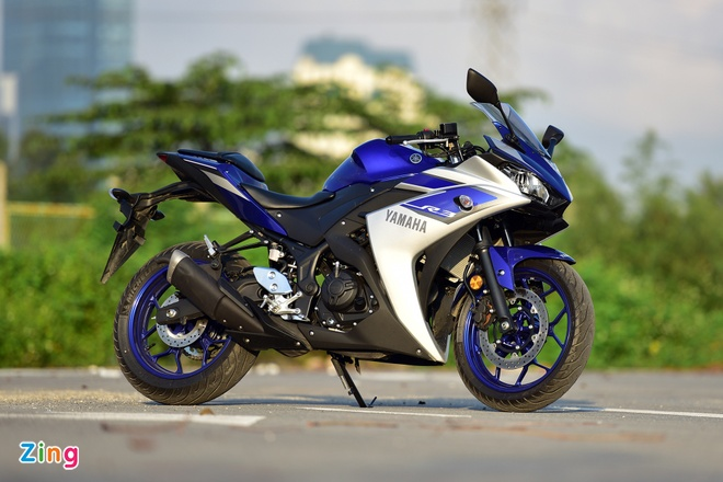 Chay thu Yamaha YZF-R3: Sportbike phu hop cho nai non tay hinh anh 2