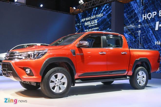 Chi tiet Toyota Hilux 2016 3.0G AT moi ra mat tai Viet Nam hinh anh 2