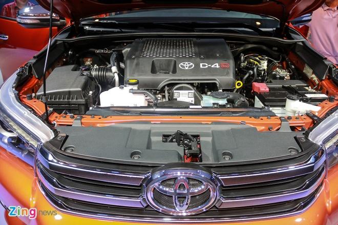 Chi tiet Toyota Hilux 2016 3.0G AT moi ra mat tai Viet Nam hinh anh 12