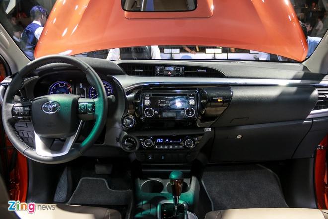 Chi tiet Toyota Hilux 2016 3.0G AT moi ra mat tai Viet Nam hinh anh 9