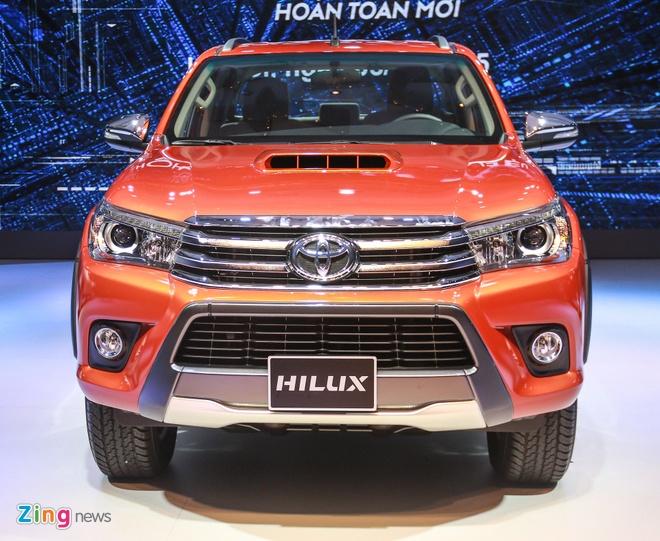 Chi tiet Toyota Hilux 2016 3.0G AT moi ra mat tai Viet Nam hinh anh 3