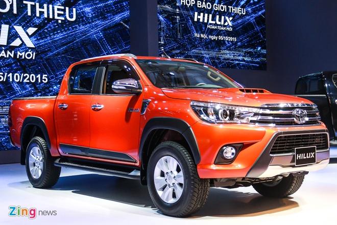Chi tiet Toyota Hilux 2016 3.0G AT moi ra mat tai Viet Nam hinh anh 1
