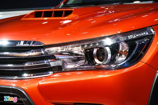 Chi tiet Toyota Hilux 2016 3.0G AT moi ra mat tai Viet Nam hinh anh 6