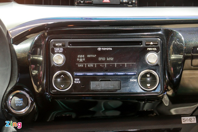 Chi tiet Toyota Hilux 2016 3.0G AT moi ra mat tai Viet Nam hinh anh 10