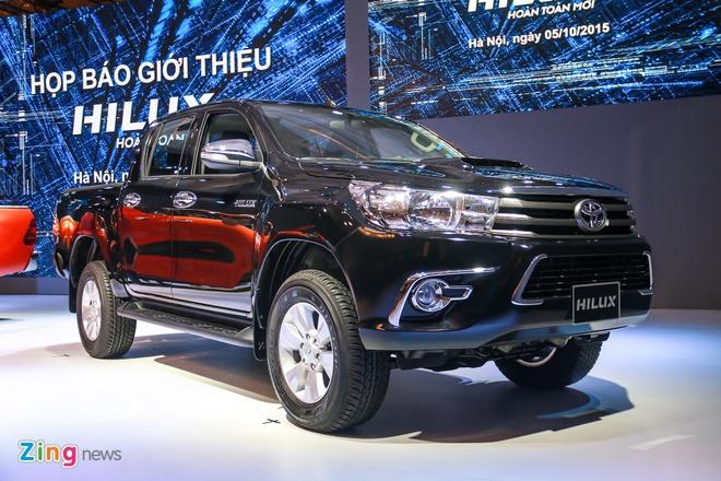Chi tiet Toyota Hilux 2016 3.0G AT moi ra mat tai Viet Nam hinh anh 14