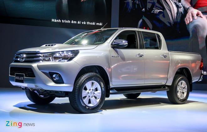 Chi tiet Toyota Hilux 2016 3.0G AT moi ra mat tai Viet Nam hinh anh 13