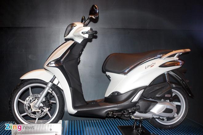 Piaggio Viet Nam ra mat Liberty ABS, gia tu 55,5 trieu dong hinh anh 1 Piaggio Liberty 125 ABS mới có giá từ 55,5 triệu đồng. Ảnh: Piaggio